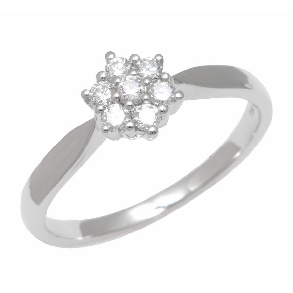 18K White Gold Designer Wedding Diamond Ring