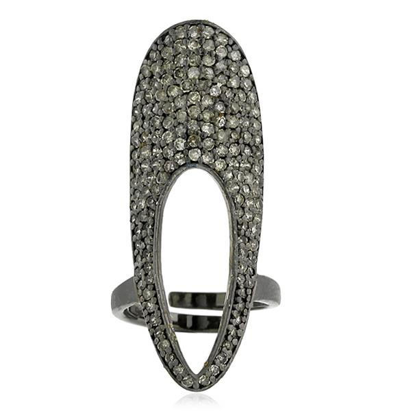 Ring Diamond Silver
