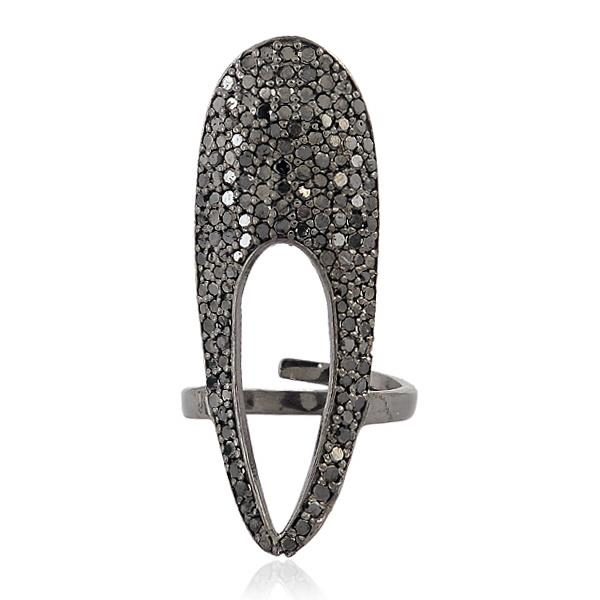 Ring Silver & Diamonds