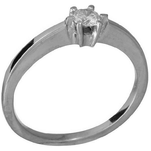 9be41a37f16 Solitaire Or Blanc 18 Kt Diamant 6 garras - KIROS JEWELS S.L.