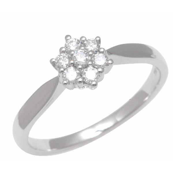 Ring 18kt White Gold and Diamonds.