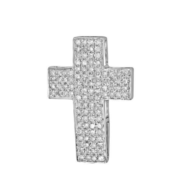 Pendant in 18 Kt white gold with Diamonds