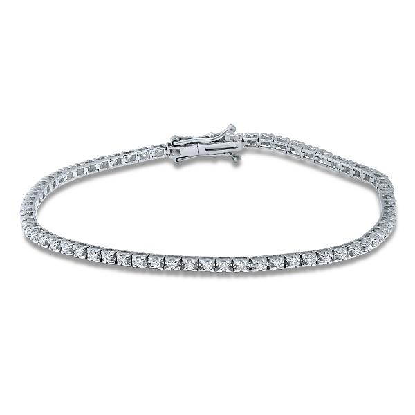 Bracelet 18Kt White Gold Diamonds