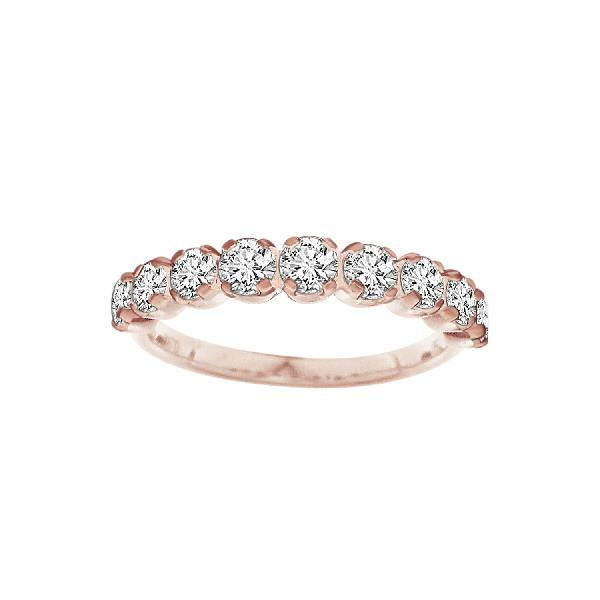 Ring 18 Kt Rose gold & Diam
