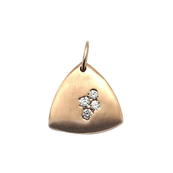 Pendant 18Kt Rose Gold Diamonds