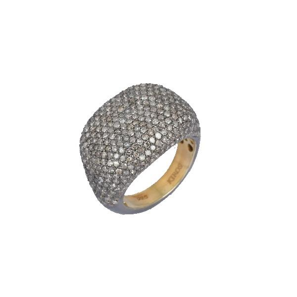 Ring Silver Diamonds