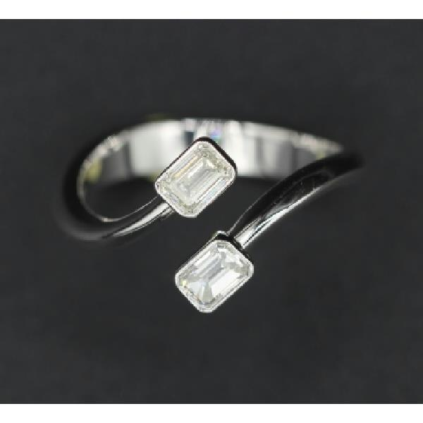Ring 18Kt White Gold Diamonds
