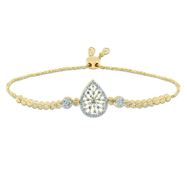 Bracelet 18KYellow Gold Diamonds