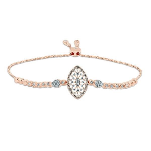 Bracelet 18K Rose Gold Diamonds