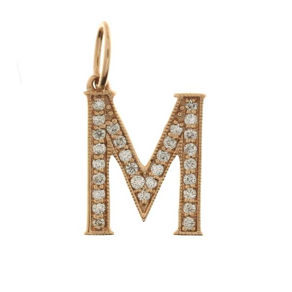 Pendant with Chain 18 Kt Yellow Gold Dia