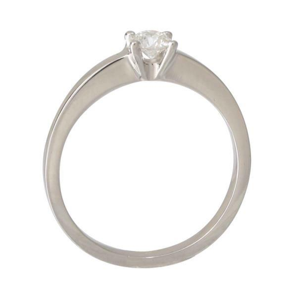 Solitaires 4 prong White Gold 18Kt Diamonds