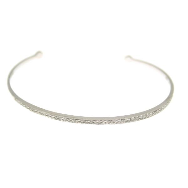 Bangles White Gold 18Kt Diamonds